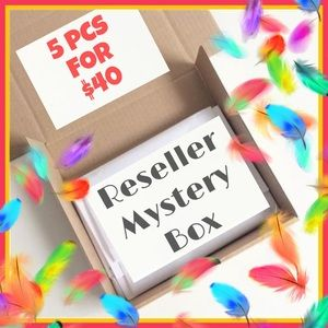 5 for $40 RESELLER MYSTERY BOX